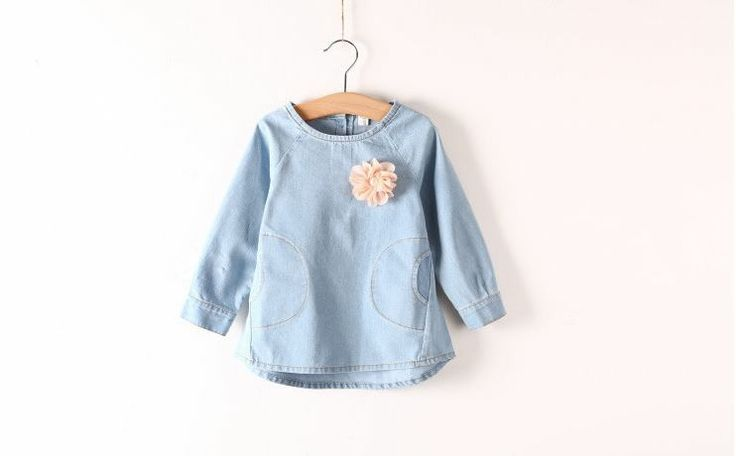 This is our adorable denim long length top. Find Handsome & Divine on Facebook