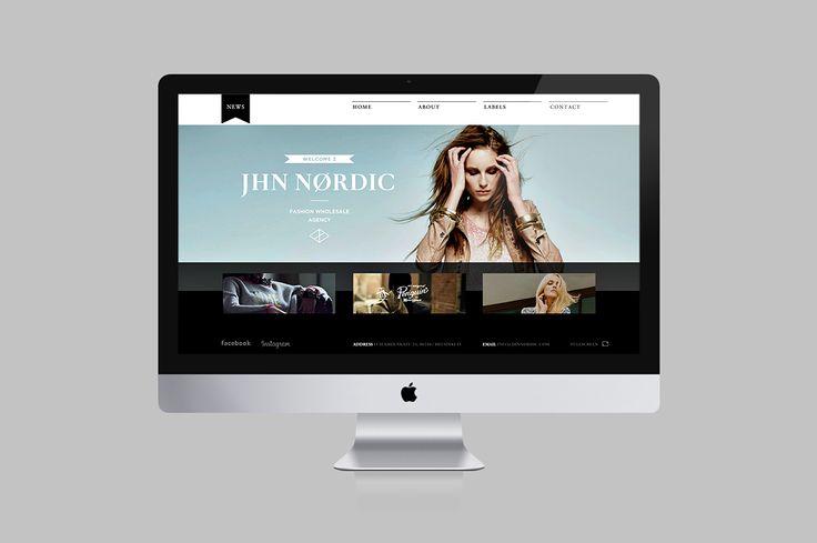 Web design. JHN Nordic