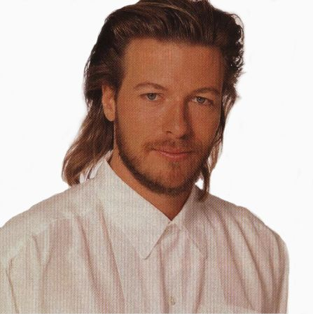 DH had a mullet modeled after  this star....Jack Wagner....sigh