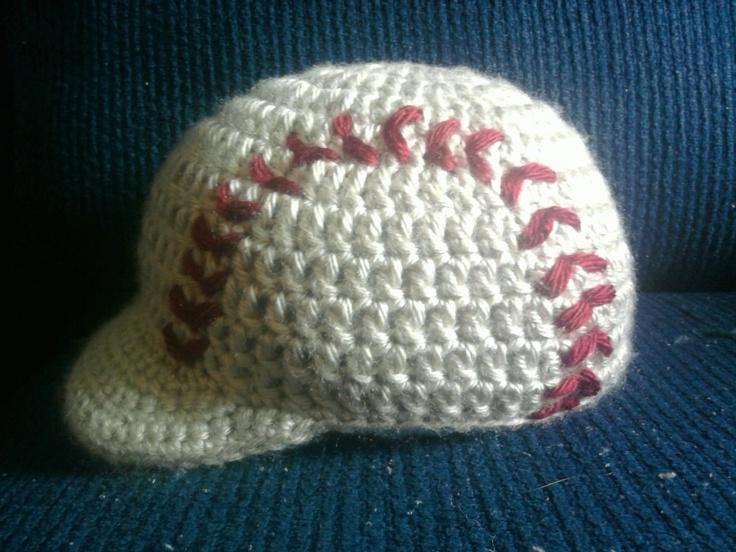 Vintage look baseball beanie $15 www.facebook.com/Unique31creations