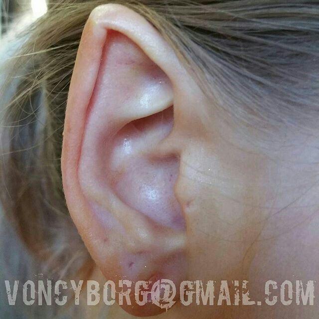 54 besten White Tattoo and Scarification Bilder auf ... Ear Pointing Healed