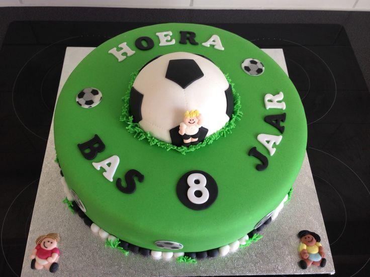 Voetbal taart