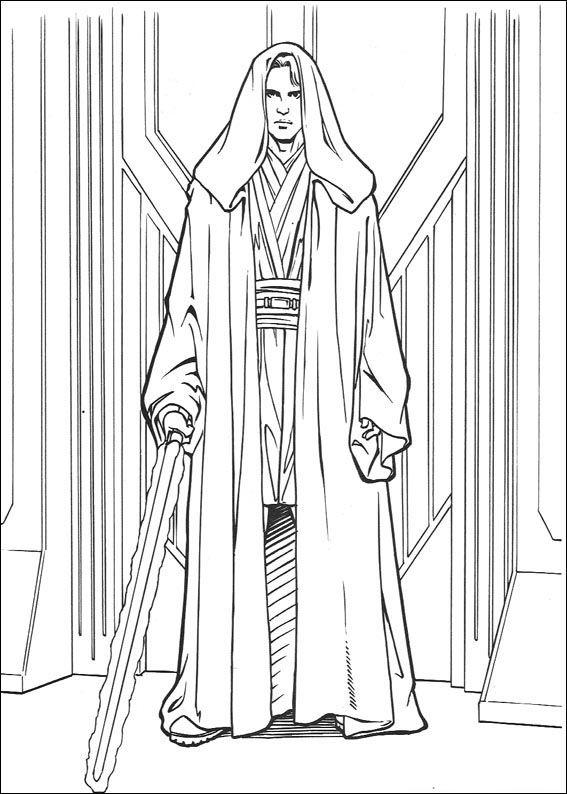 Star Wars Tegninger til Farvelægning 90