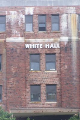 White Hall. Abandoned military building.  Chanute AF Base, Rantoul, Illinois (Champaign County).