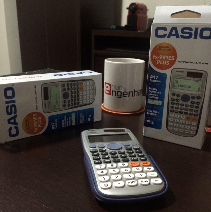 Testeamos a calculadora Casio fx-991ES PLUS, a científica que faz cálculo integral, diferencial, matriz e vetorial, com um dos melhores custo-benefício.