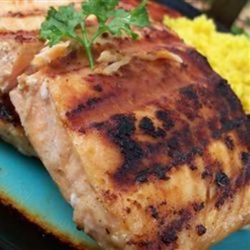 Lime-Marinated Grilled Salmon Allrecipes.com. 1/4 c lime juice, 1 tbsp olive oil,
