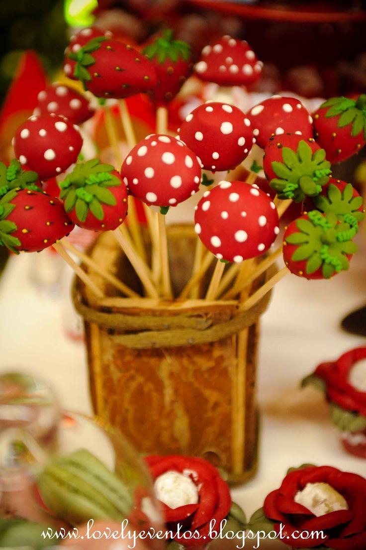Lovely Eventos: Festa Chapeuzinho Vermelho!