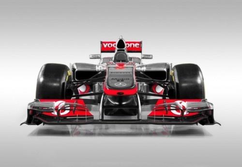 McLaren 2012 F1 Car