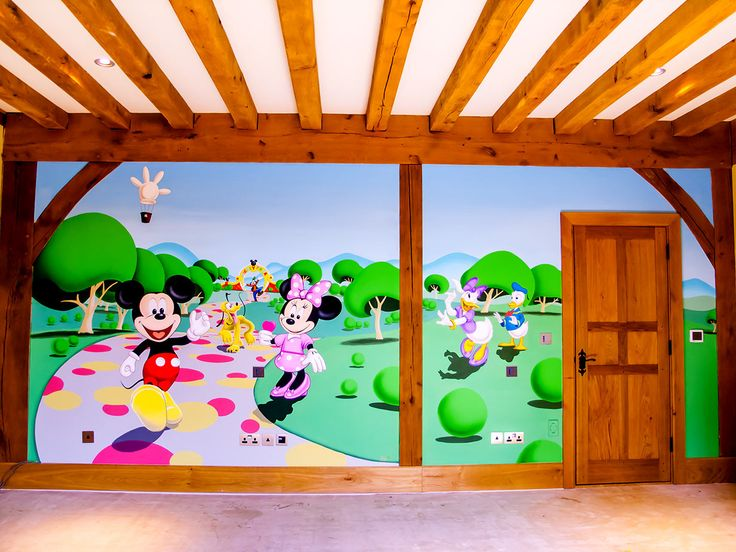 girls bedroom mickeys clubhouse