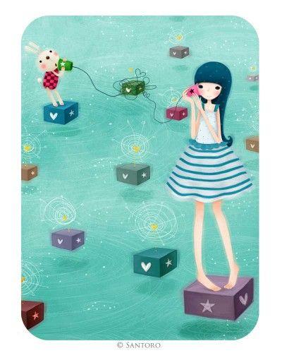 Kori Kumi Cards - Hello