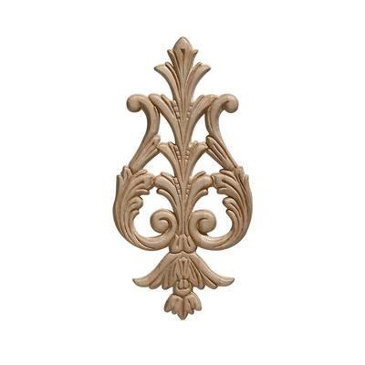 Ornamental Mouldings Embossed Acanthus Drop Ornament 9 3