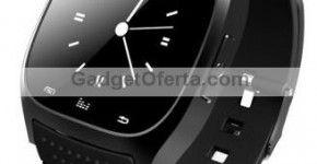 R-Reloj Bluetooth M26. Un elegante e inteligente reloj.  Multitud de funciones concentradas en un atractivo, moderno, elegante y económico reloj inteligente.