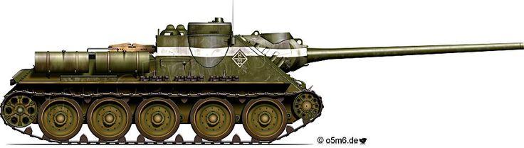 SU-100 Self-Propelled Gun
