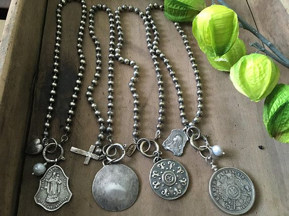 1a76213cb6b5f Chunky Ball Chain Choker Double Wrap Bracelet Sterling | Jewelry ...