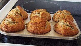 Muffins aux bananes #recettesduqc #muffin #banane