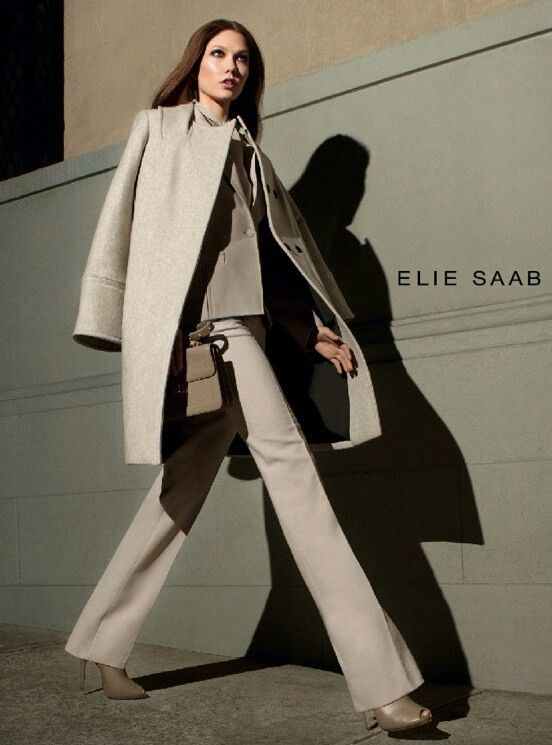 Karlie Kloss Elie Saab fall winter 2012 2013 ad campaign