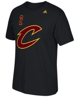 adidas Men's Kyrie Irving Cleveland Cavaliers Player T-Shirt - Black XXL