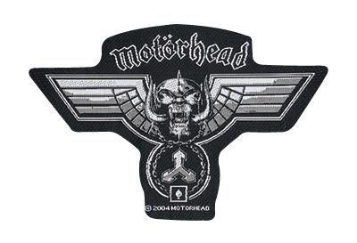 """#Toppa in tessuto da cucire """"Logo"""" dei #Motörhead. Dimensioni: 13 x 8,5 cm circa. 100% poliestere."""