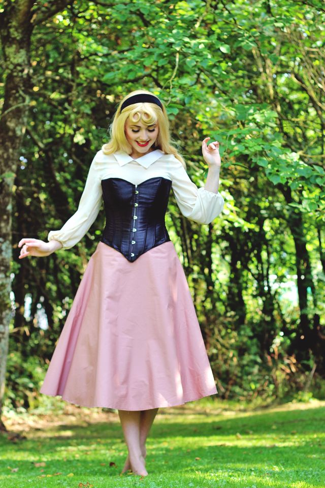 "Briar Rose: Sleeping Beauty ""Briar Rose"" Cosplay."