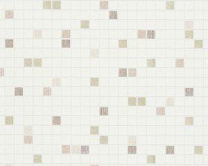 Moderní vinylová tapeta hnědá, metalická imitace mozaiky 96239-3 / Tapety na zeď 962393 Faro 4 AS (0,53 x 10,05 m) A.S.Création