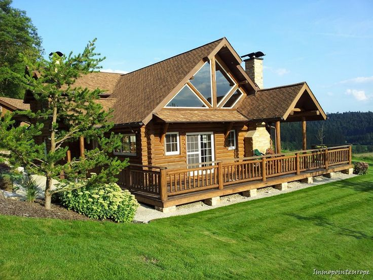 Log Home in Germany Country House for Sale in Rottweil