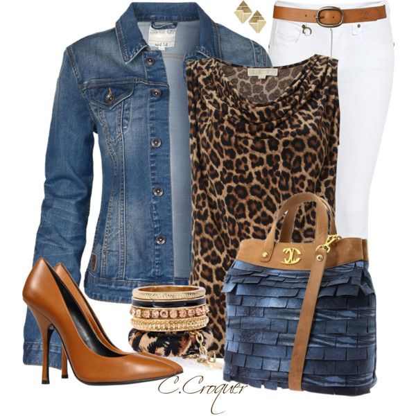 White&Denim, created by ccroquer on Polyvore