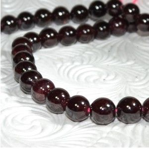 Red Garnet -  Stone of purity and truth, symbol of love and compassion.  Strengthens  self esteem and and spiritual awareness. Healing Properties: Associated with the thyroid and spleen - helps cleanse and purify both when held over the area. Mediums hold in hand and over the head when meditating or searching on past lives.