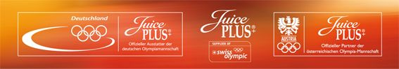 Juice Plus + is used by Olympic athletes of Germany, Switzerland & Austria!