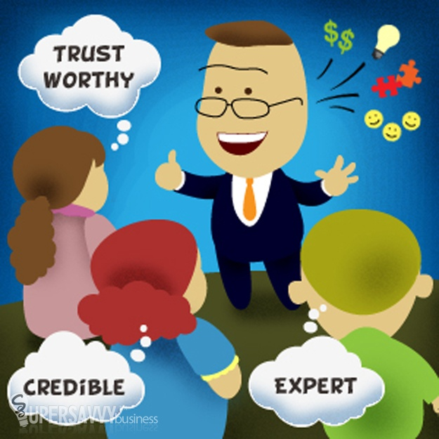 Simple ways to build your expertise, credibility and trust through guest blogging.
