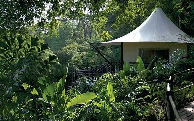 Four Seasons Tented Camp, Golden Triangle. Thailand