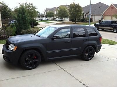 ebay 2007 jeep grand cherokee srt8 2007 matte black srt8. Black Bedroom Furniture Sets. Home Design Ideas