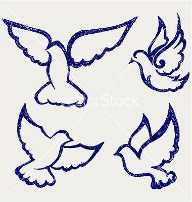 First Communion Banner Templates | Dove symbol vector art - Download Dove vectors - 901888