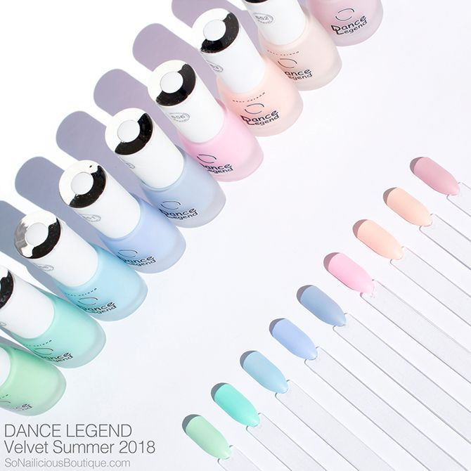 #beautynails #DANCE #LEGEND #Velvet DANCE LEGEND Velvet – pretty pastel nail po…