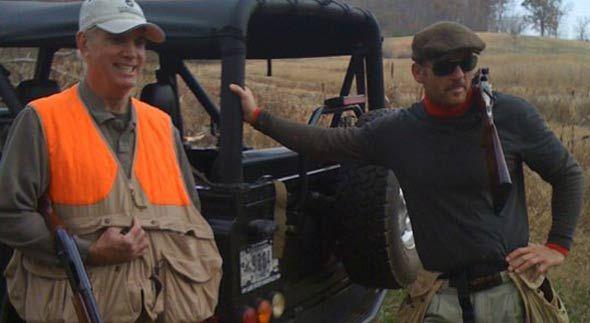 Tim McGraw Quail Hunting.