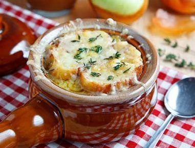 Französische+Apfel-Zwiebel-Suppe