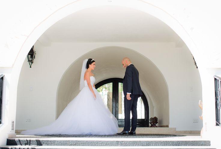 Bride & Groom First Look, First Look, First Look Photos, Los Cabos Wedding, Cabo Weddings