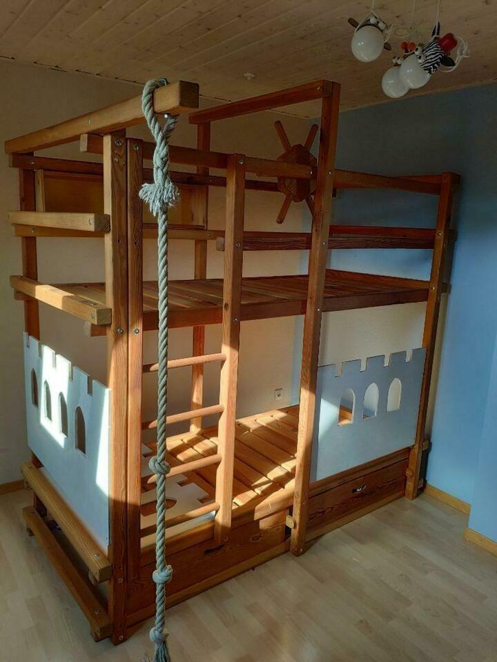 Kinder Etagenbett Billi Bolli Style Mitwachsend 90 200 Hochbett In