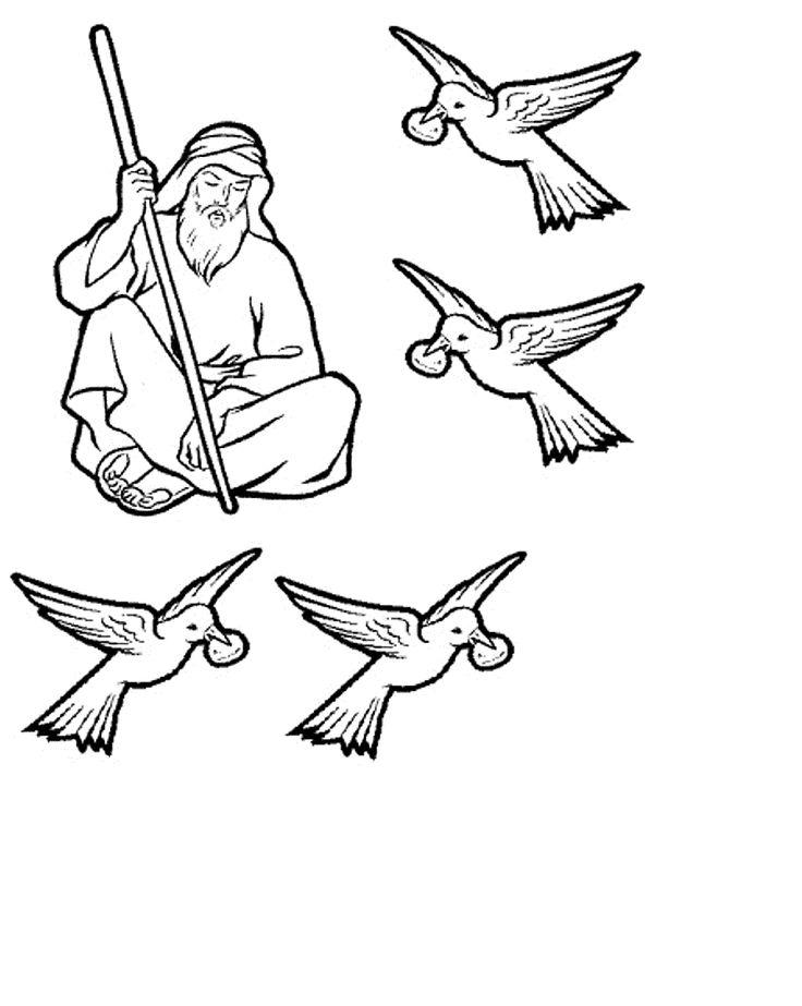 Elijah Is Fed By Ravens
