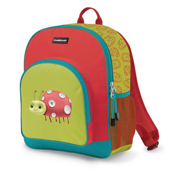 Crocodile Creek Backpack - Ladybug http://pumpkinpiekids.com/products/backpack-ladybug