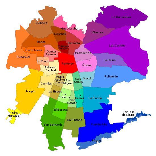 Comunas de Santiago