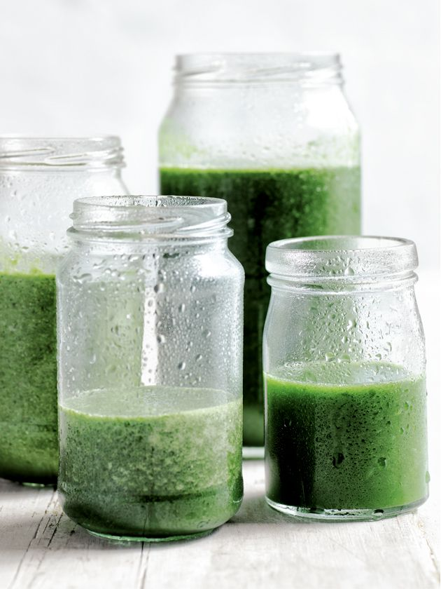 Donna Hay - one of my favs - and her green smoothie recipe - also a fav. Yahtzee!
