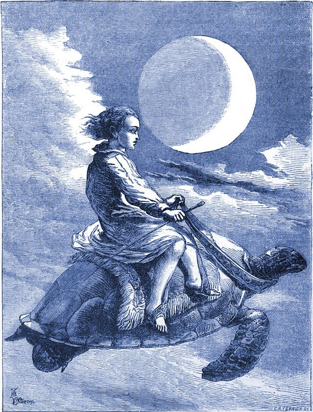 """An illustration from an 1877 issue of the children's magazine """"Little Wide-Awake"""""""