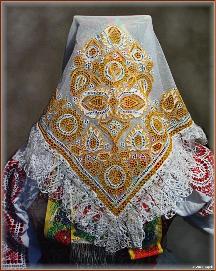 Slovak embroidery from Piestany region