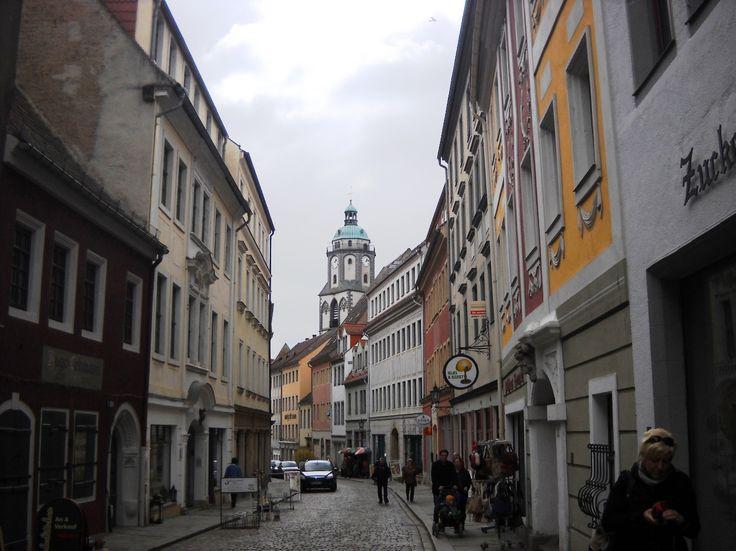 Ulice v Míšni - Německo