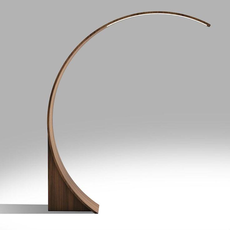 Tom Schneider Swoop LED Floor Lamp   Sterling Furniture