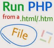 Abhilasha Technology: How to run php scripts in html file