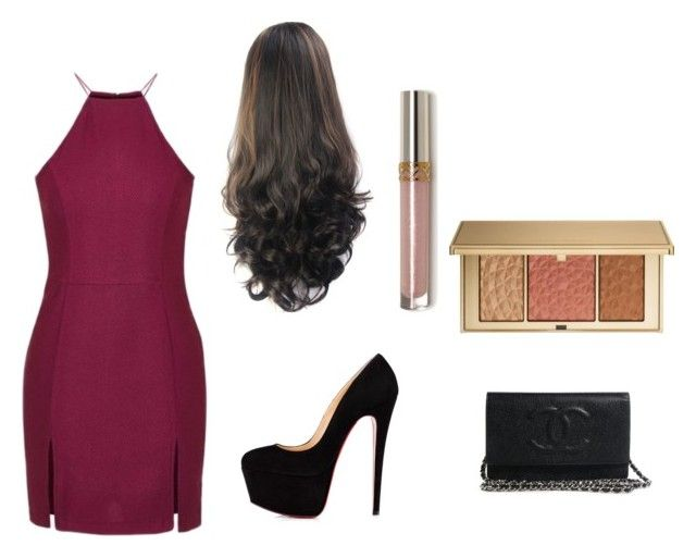 """"""""""" by ashabeswick on Polyvore featuring Topshop and Estée Lauder"""