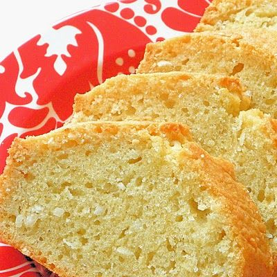 coconut bread... love coconut. I think this would be delicious for strawberry shortcake.