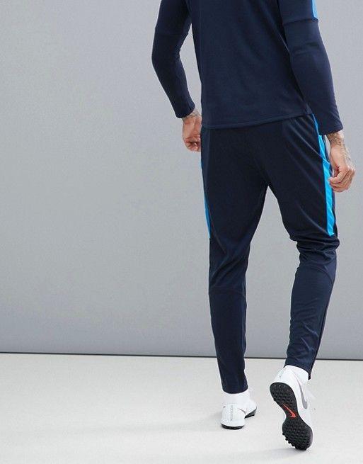 9564b58296df Nike Football Training academy Dry joggers in blue 839363-458