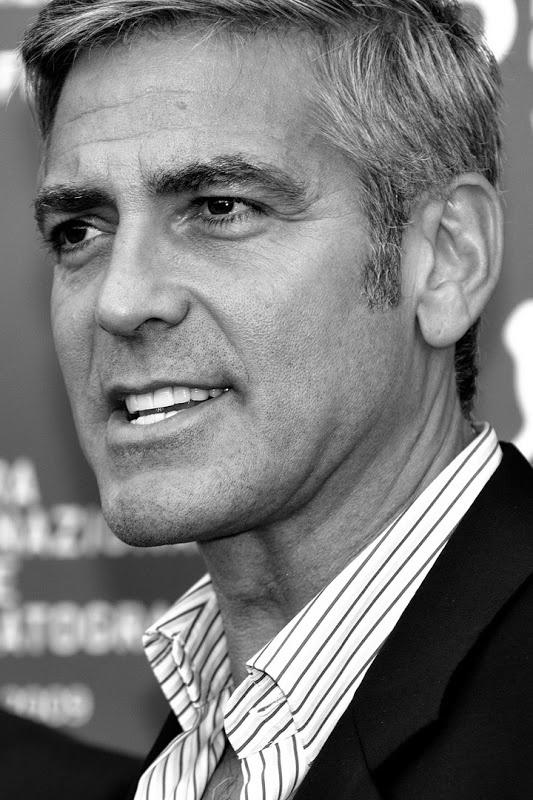 George Clooney | George clooney, Portrait, Famous faces
